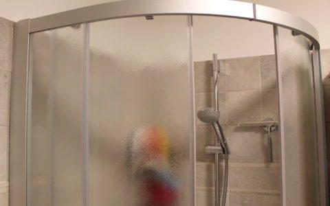 Sanierung einer Dusche